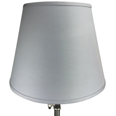17 Linen Empire Lamp Shade Color: Iron