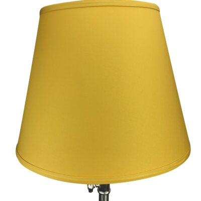 17 Linen Empire Lamp Shade Color: Curry