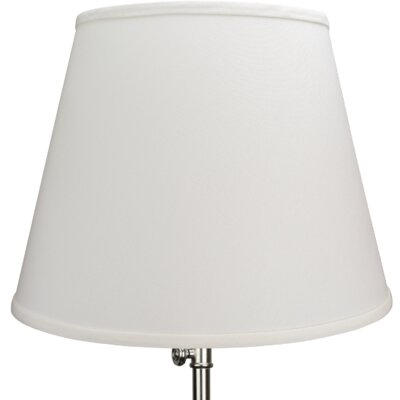 17 Linen Empire Lamp Shade Color: Cream