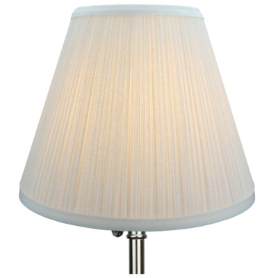 10 Empire Lamp Shade Color: White
