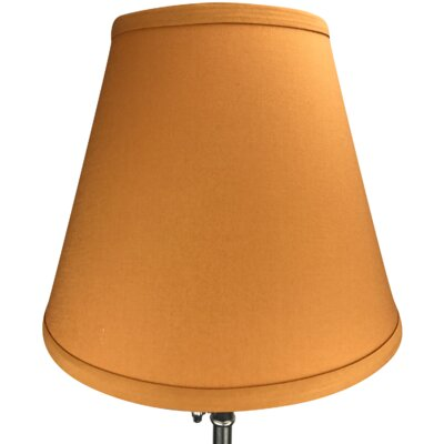 11 Linen Empire Lamp Shade Color: Gold