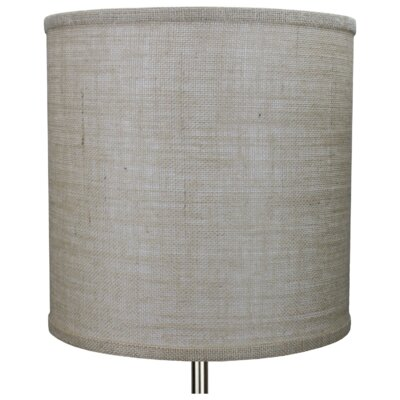 12 Burlap Drum Lamp Shade Color: Natural