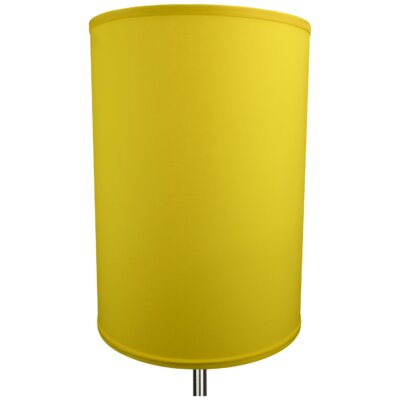 12 Linen Drum Lamp Shade Color: Citrus