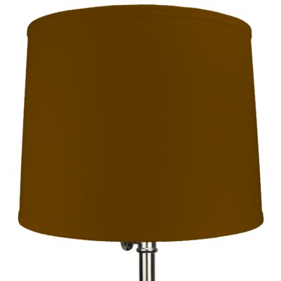 16 Linen Drum Lamp Shade Color: Gold