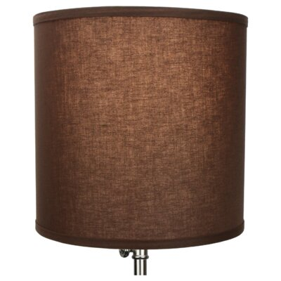 12 Linen Drum Lamp Shade Color: Coffee