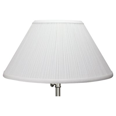 14 Empire Lamp Shade Color: White