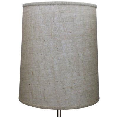 15 Burlap Drum Lamp Shade Color: Natural