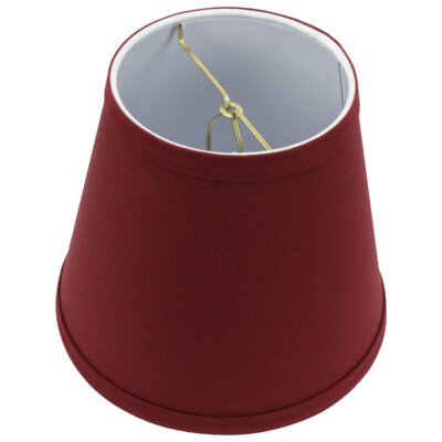 8 Linen Empire Lamp Shade Color: Brick