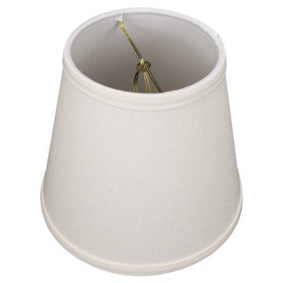 8 Linen Empire Lamp Shade Color: Cream
