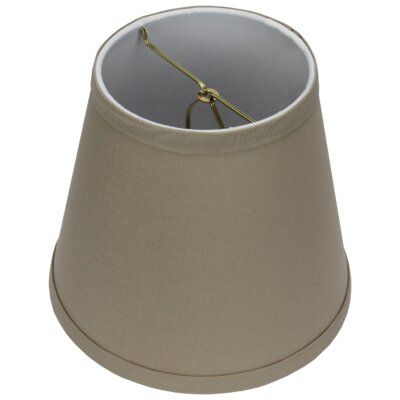 8 Linen Empire Lamp Shade Color: Stone