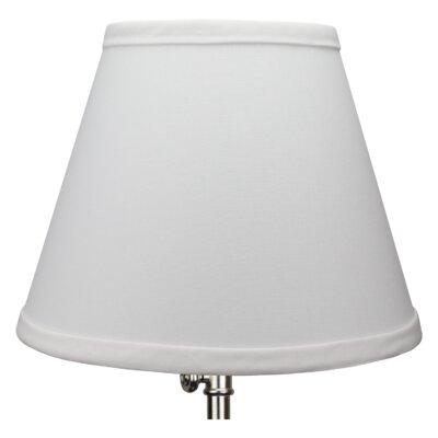 8 Linen Empire Lamp Shade Color: White