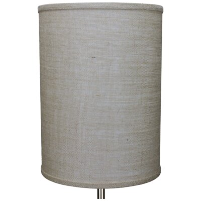 11 Burlap Drum Lamp Shade Color: Natural