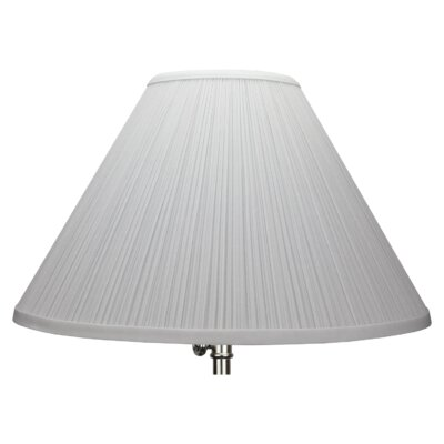 15 Empire Lamp Shade Color: White