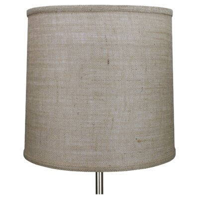 14 Linen Drum Lamp Shade Color: Natural