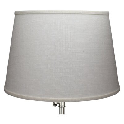 18 Drum Lamp Shade Color: Off White