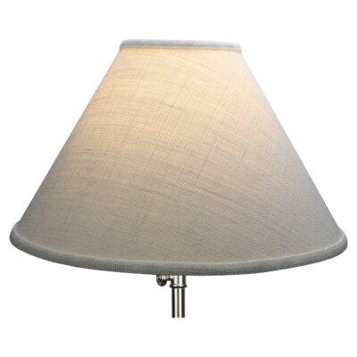 15 Linen Empire Lamp Shade Color: Natural