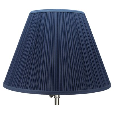 18 Empire Lamp Shade Color: Navy