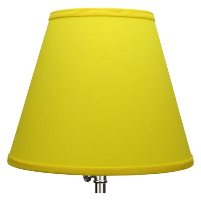 11 Linen Empire Lamp Shade Color: Citrus