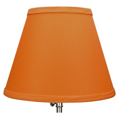 9 Linen Empire Lamp Shade Color: Cedar