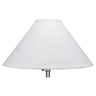 18 Linen Empire Lamp Shade Color: White