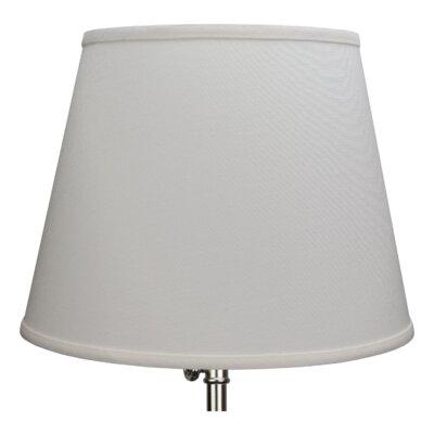 13 Linen Empire Lamp Shade Color: Off White