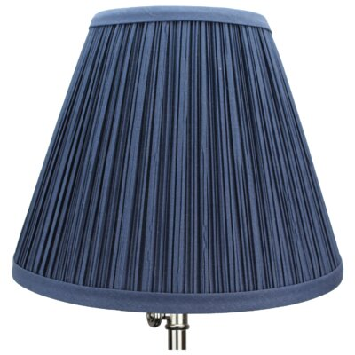 10 Empire Lamp Shade Color: Navy