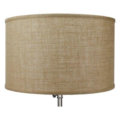 18 Burlap Drum Lamp Shade Color: Natural