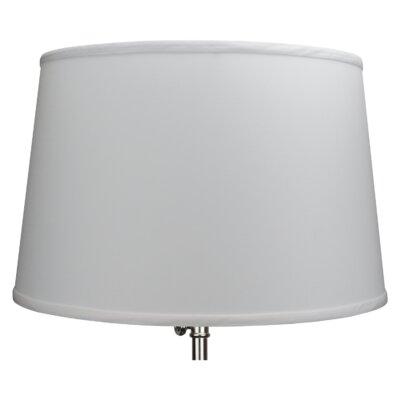 18 Linen Empire Lamp Shade Color: White