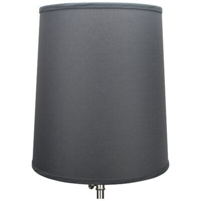 15 Linen Empire Lamp Shade Color: Graphite