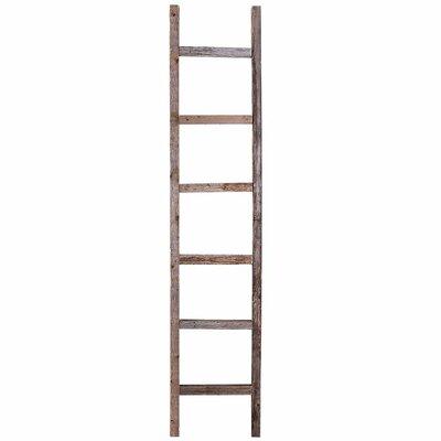 Barnwoodusa Rustic 4 Ft Decorative Ladder