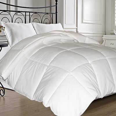 Natural Feather All Season Down Comforter Size: Twin