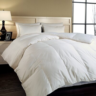 All Season Hypoallergenic Hungarian Comforter Size: Full / Queen