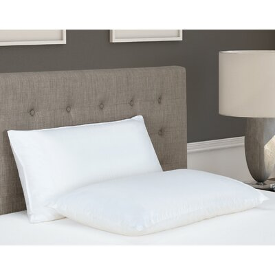 2-in-1 Memory Foam Pillow Size: King