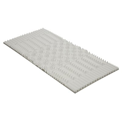 Twin XL Convoluted Memory Foam Topper