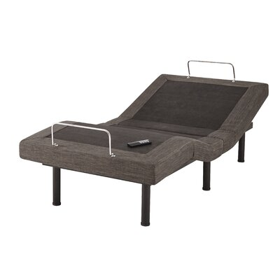 Upholstered Wireless Adjustable Bed Size: Twin XL