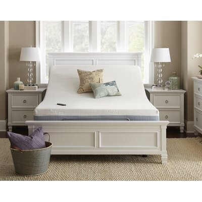 Upholstered Wireless Adjustable Bed Size: Queen