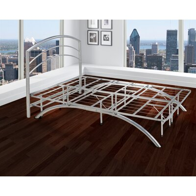 Open-Frame Platform Bed Frame Size: Double