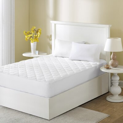 12 Polyester Mattress Pad Size: Full