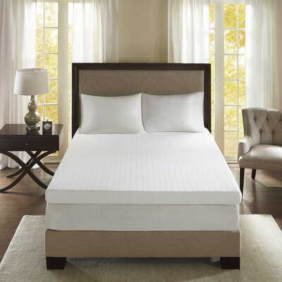 4 Memory Foam Mattress Topper Size: Full