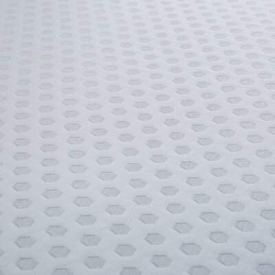 12 Gel Memory Foam Mattress Topper Size: Twin