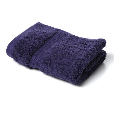 Cotton Washcloth Color: Navy Blue