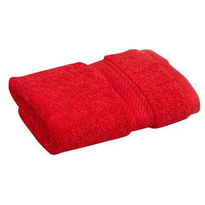 Cotton Washcloth Color: Red