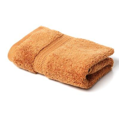 Cotton Washcloth Color: Rust