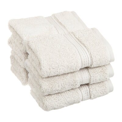Hugo Washcloth Color: Stone