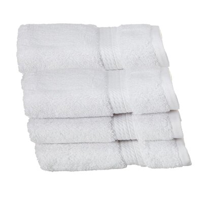Hugo Washcloth Color: White