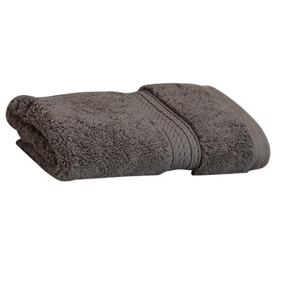 Cotton Washcloth Color: Charcoal