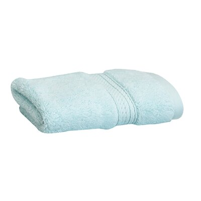 Superior Hugo 6 Pieces Washcloth Towel Set Color: Sea Foam