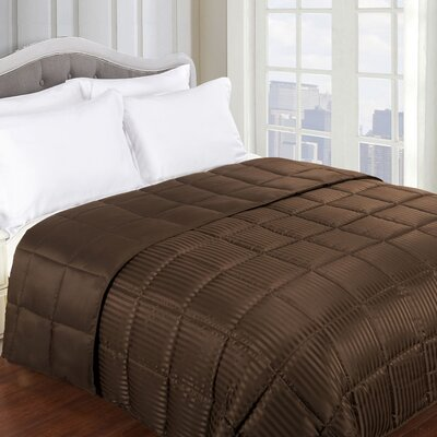 Blanket Color: Chocolate, Size: King
