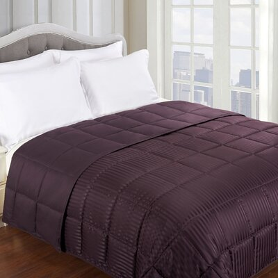 Blanket Color: Plum, Size: King
