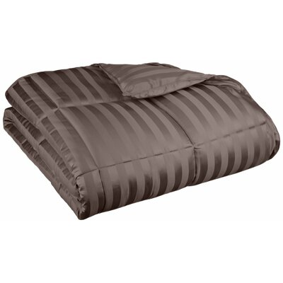 Midweight Down Alternative Comforter Size: Twin / Twin XL, Color: Charcoal